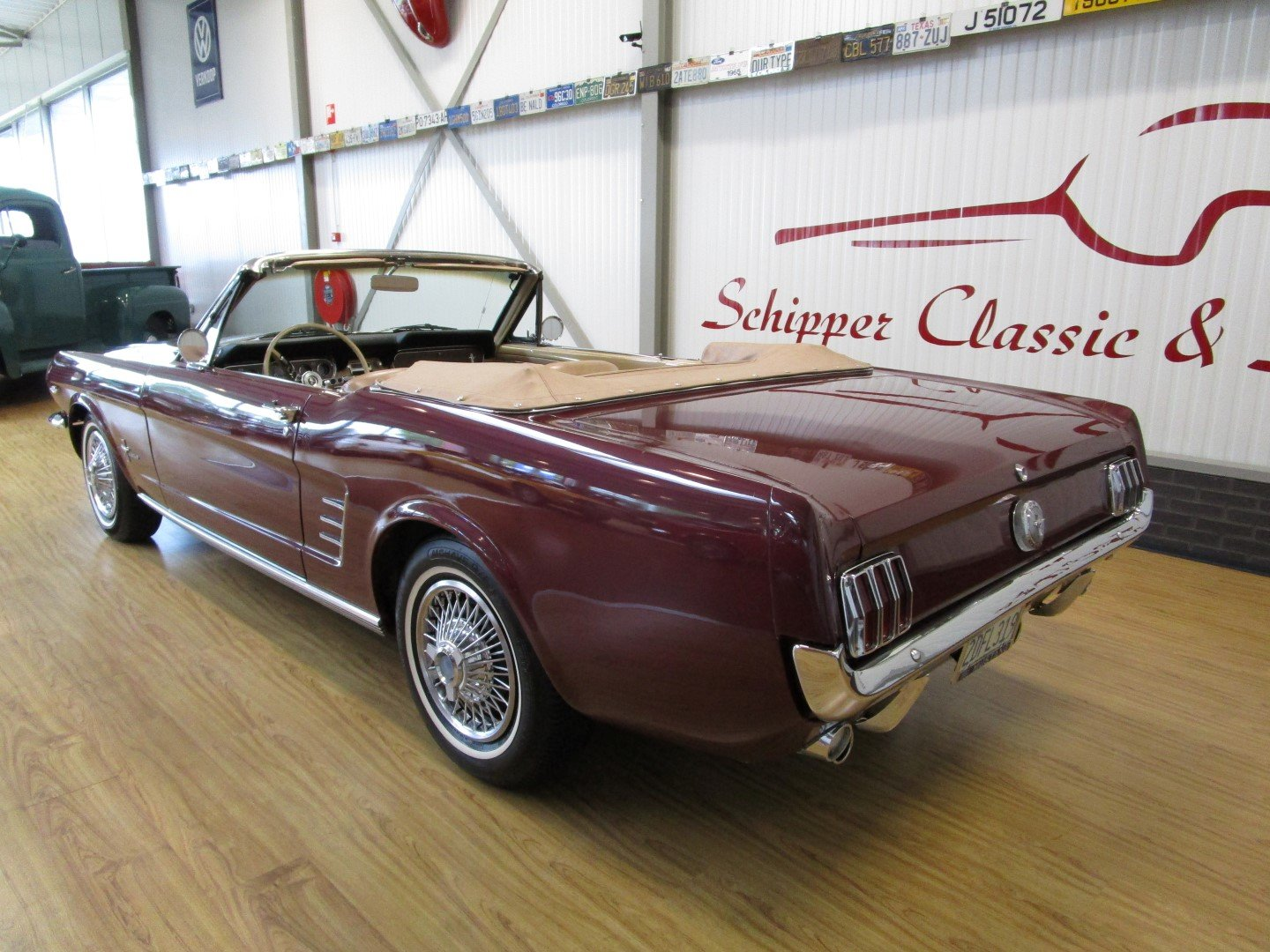 1966 Ford Mustang 289 V8 Cabrio For Sale (picture 3 of 6)