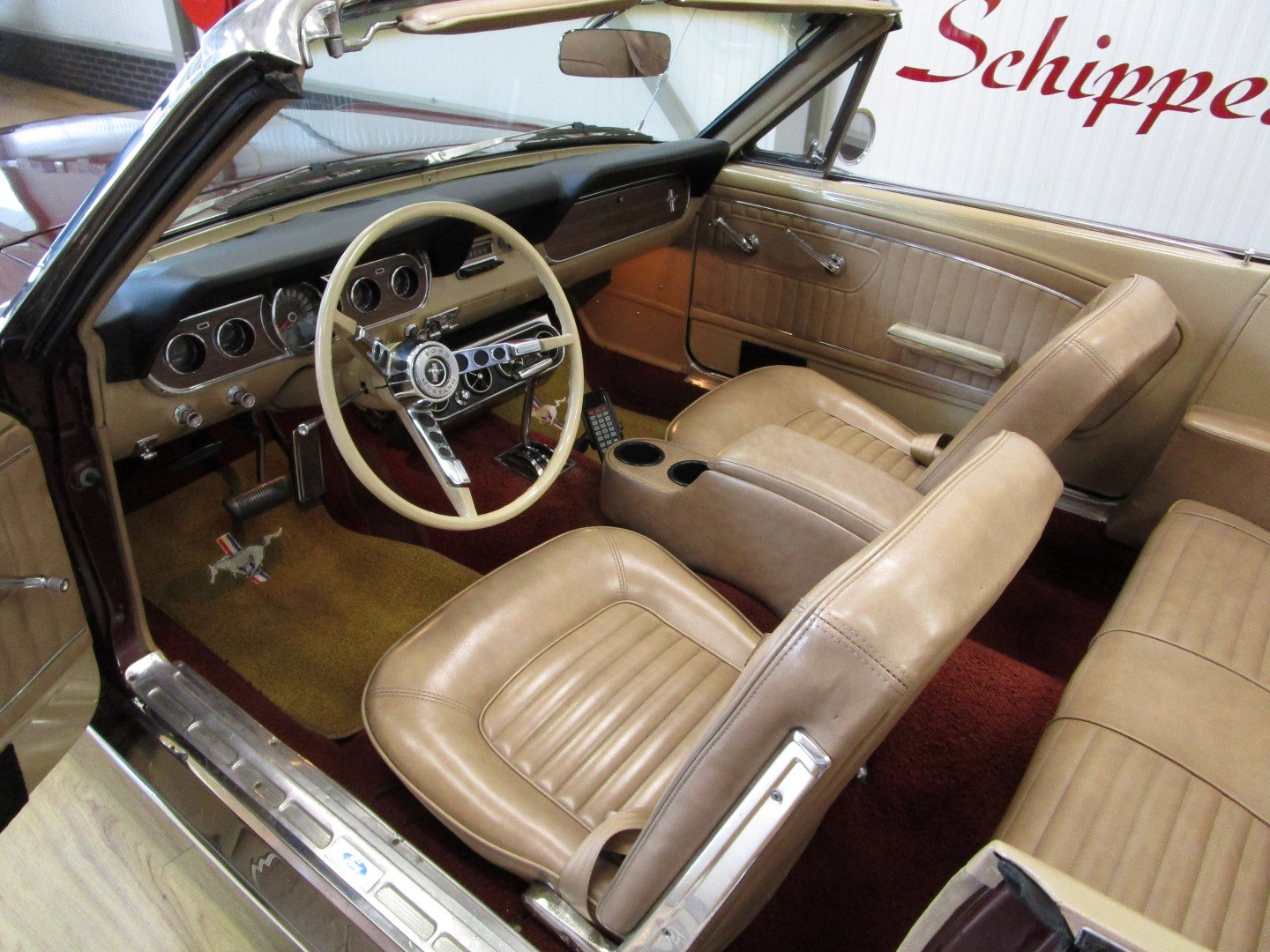 1966 Ford Mustang 289 V8 Cabrio For Sale (picture 5 of 6)