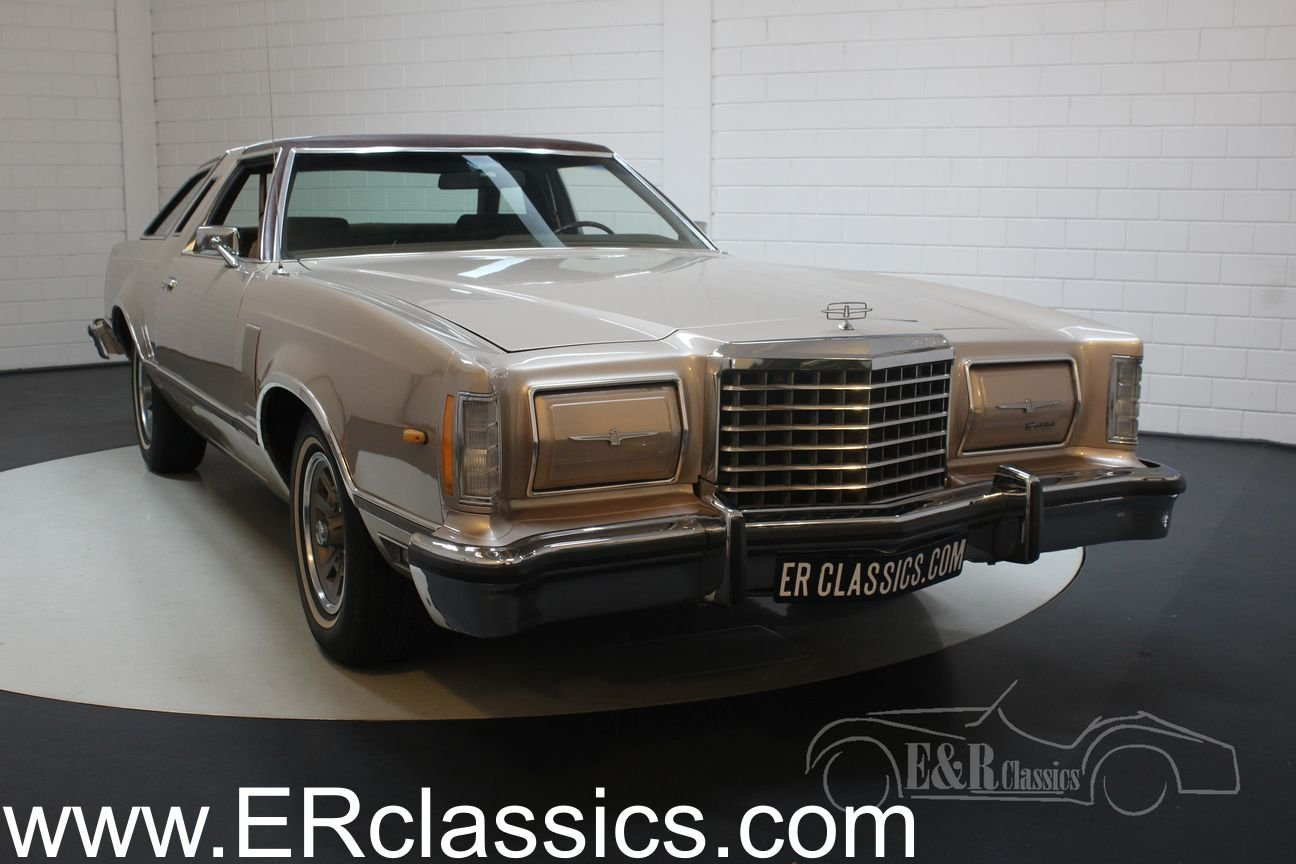 Ford Thunderbird coupe 1978 original Dutch car 40309 KM For Sale (picture 1 of 6)