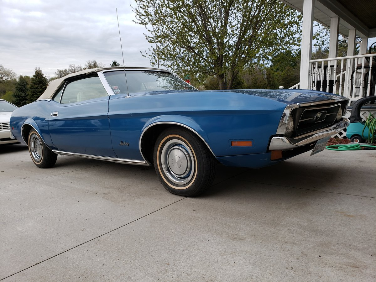 All Original, numbers matching 1972 Ford Mustang Convertible For Sale (picture 1 of 6)