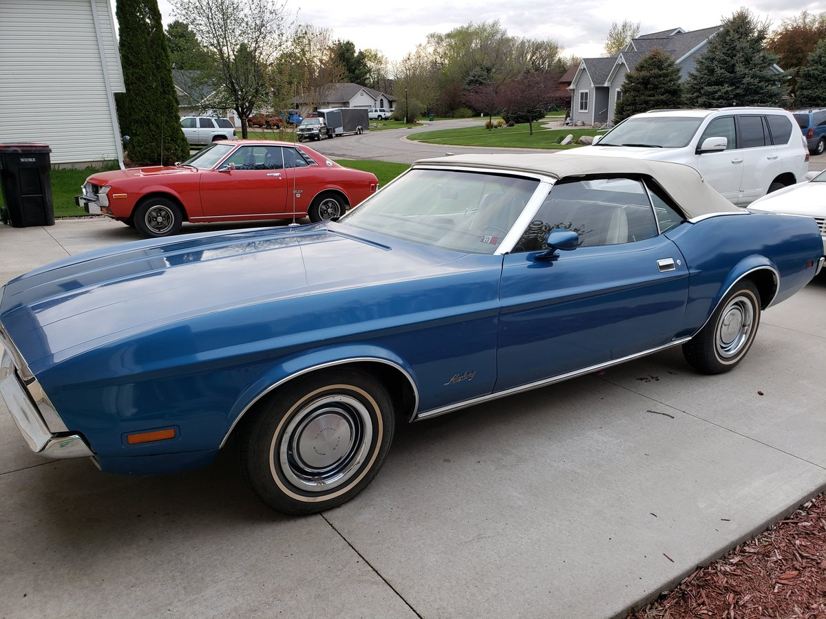 All Original, numbers matching 1972 Ford Mustang Convertible For Sale (picture 2 of 6)