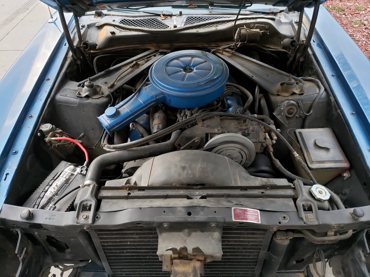 All Original, numbers matching 1972 Ford Mustang Convertible For Sale (picture 3 of 6)