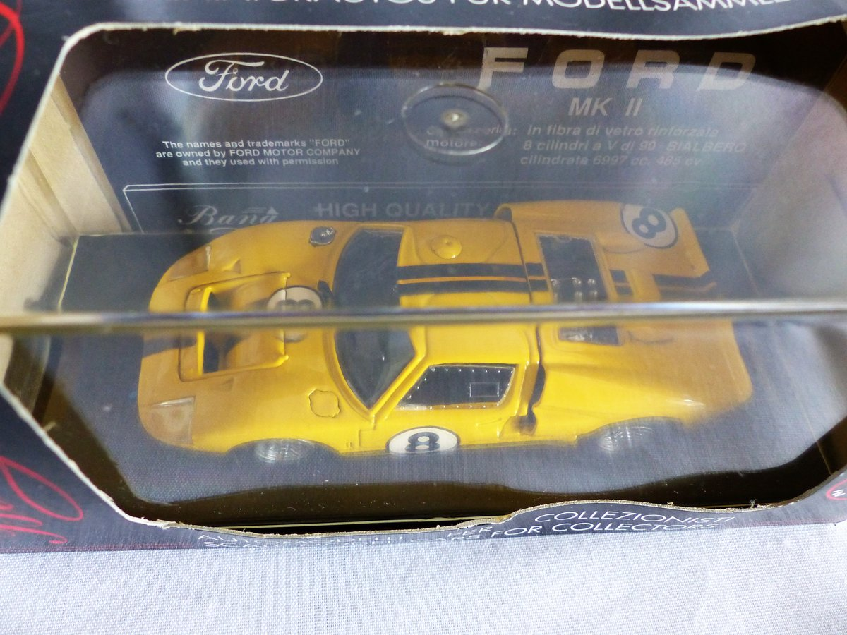 1966 BANG 1:43 SCALE MODEL-FORD MK 11-LE MANS  CAR # 8 For Sale (picture 2 of 6)