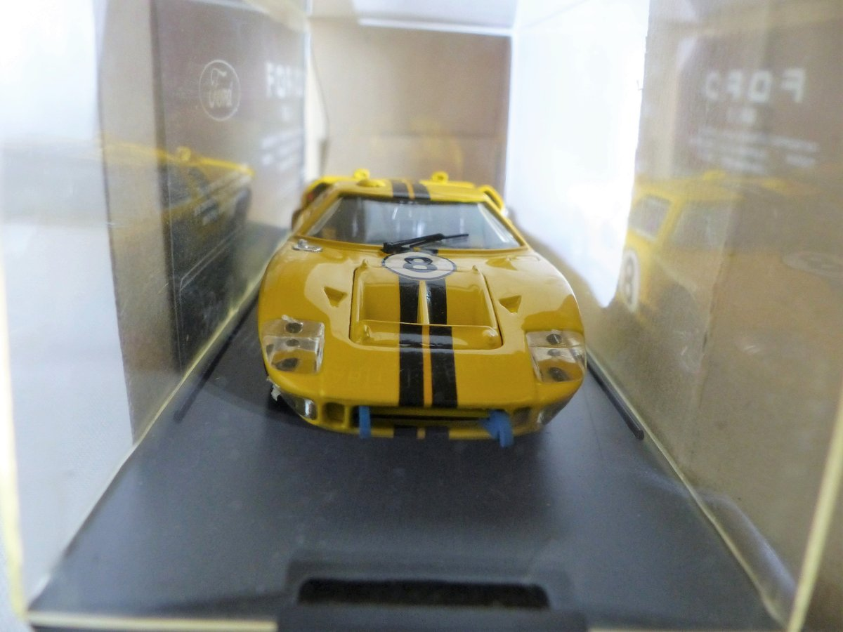 1966 BANG 1:43 SCALE MODEL-FORD MK 11-LE MANS  CAR # 8 For Sale (picture 3 of 6)