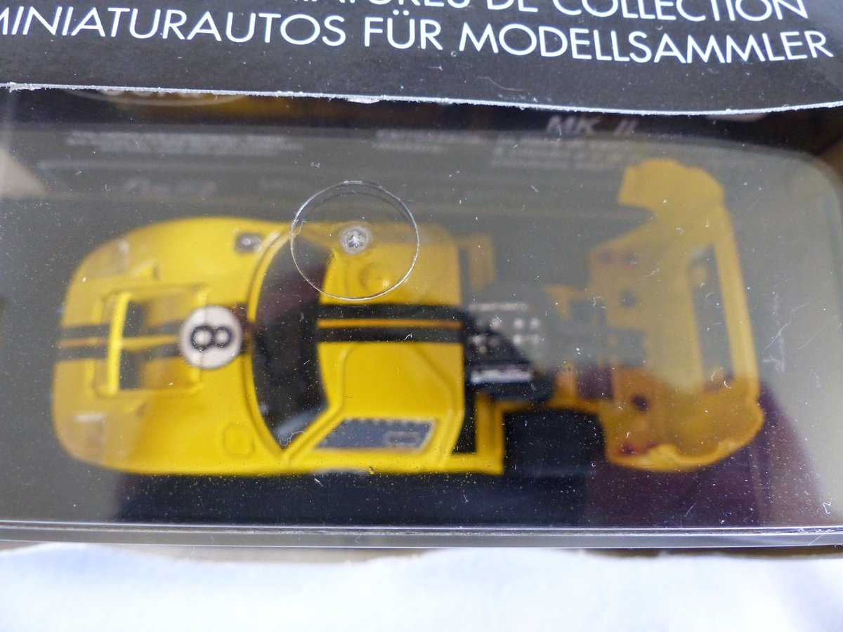 1966 BANG 1:43 SCALE MODEL-FORD MK 11-LE MANS  CAR # 8 For Sale (picture 4 of 6)