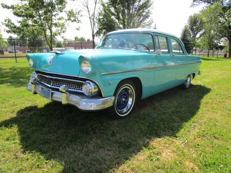 1955 Ford Customline Sedan For Sale | Car And Classic