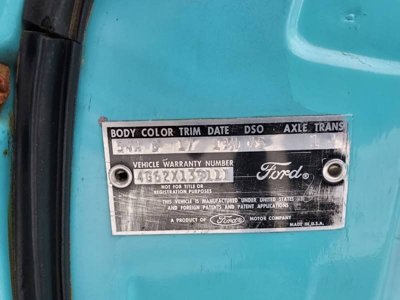 1964 Ford Galaxie 500 Numbers Matching 2 Owner  For Sale (picture 5 of 6)