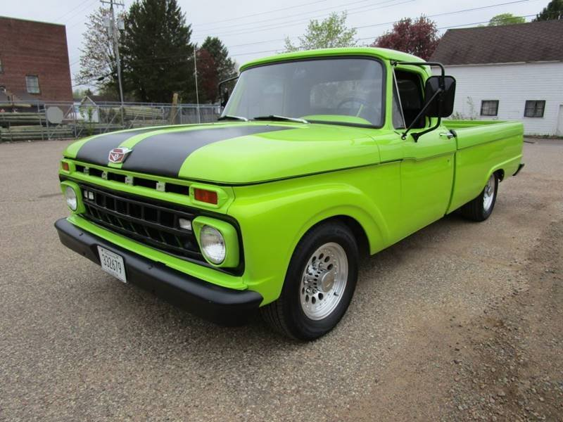 1965 Ford F250 Custom Street Rod 4 Speed  For Sale (picture 1 of 6)