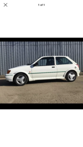 1990 Mk3 Ford Fiesta Rs Turbo Unfinished Project