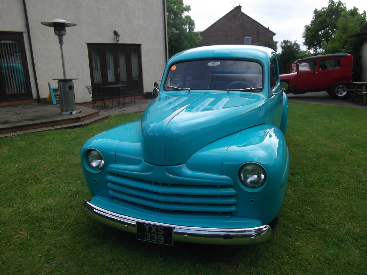 1946 Ford Coupe 350 V8, 5.7L, Hot Rod, Real Eyecatcher  SOLD (picture 2 of 6)
