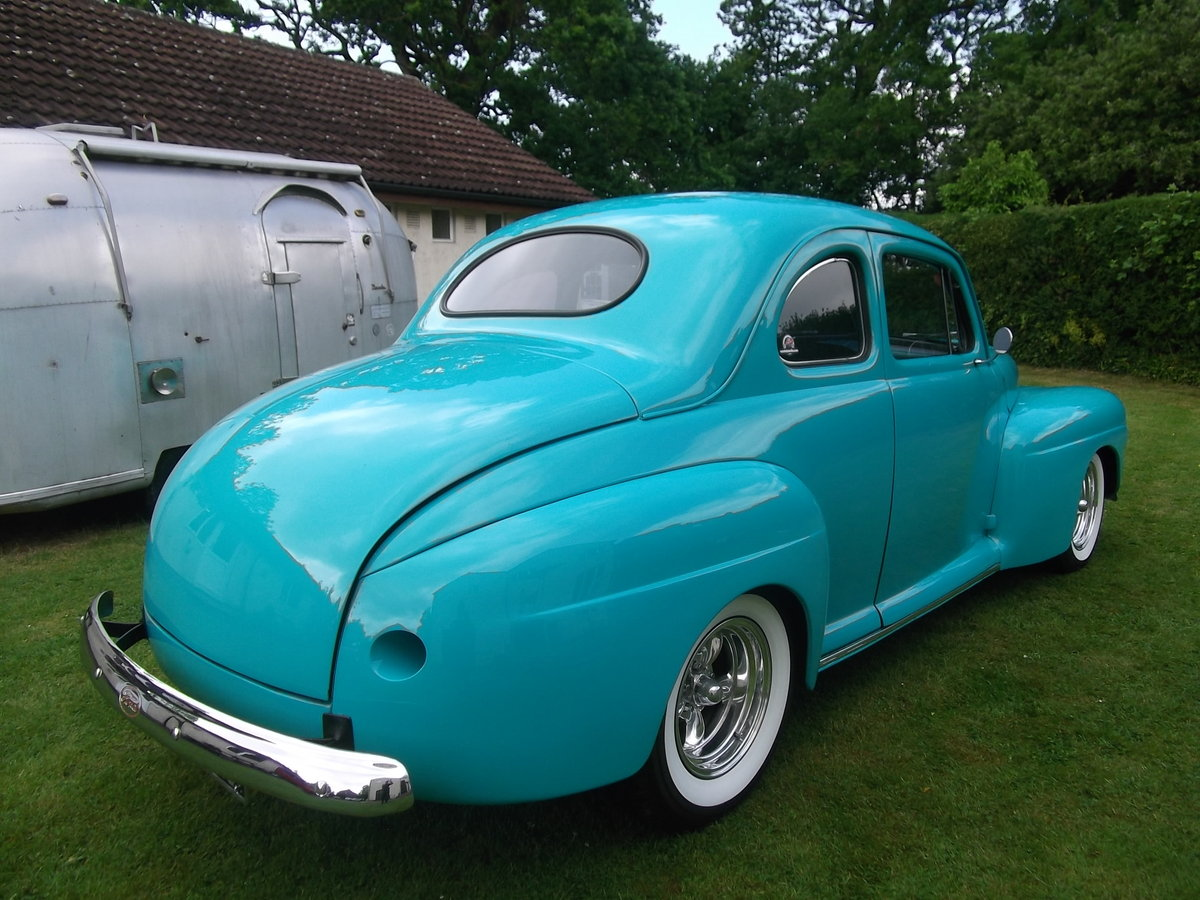1946 Ford Coupe 350 V8, 5.7L, Hot Rod, Real Eyecatcher  SOLD (picture 5 of 6)
