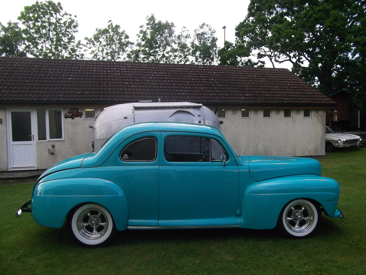1946 Ford Coupe 350 V8, 5.7L, Hot Rod, Real Eyecatcher  SOLD (picture 6 of 6)