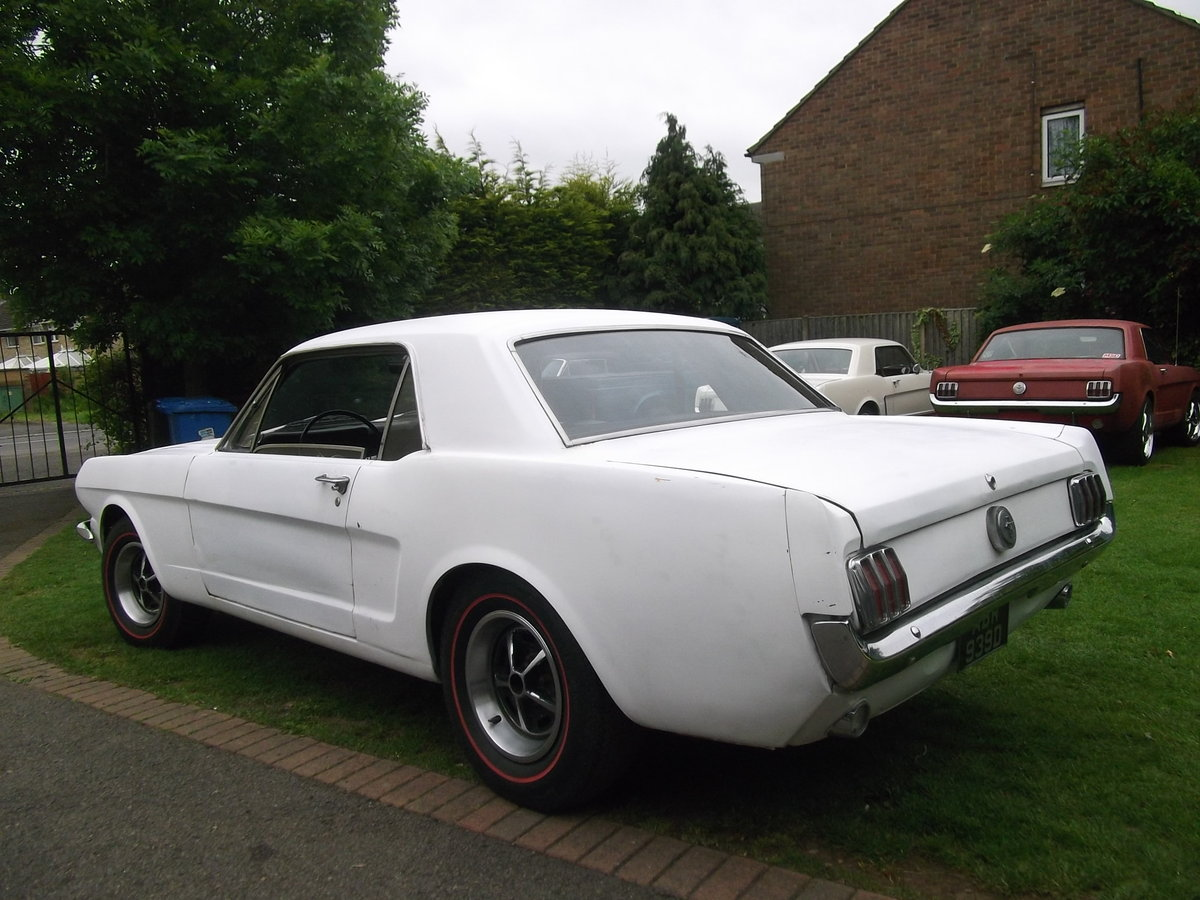 1966 Mustang Coupe 289 V8, C Code, Manual Unfinished Project For Sale (picture 2 of 6)