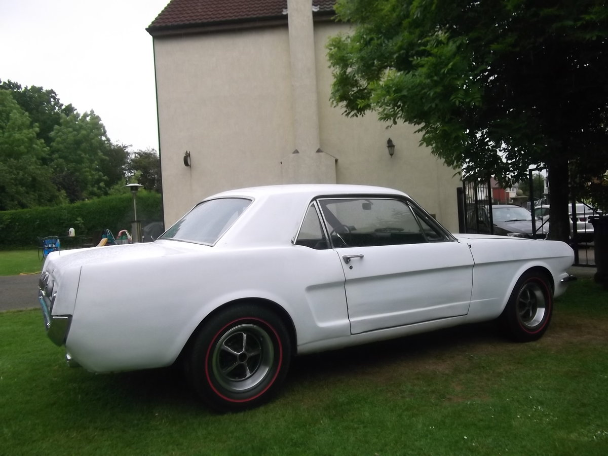 1966 Mustang Coupe 289 V8, C Code, Manual Unfinished Project For Sale (picture 5 of 6)