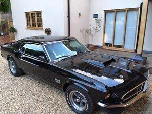 1969 Ford Mustang Fastback 2+2 7L V8 460 Engine - Jade Black SOLD