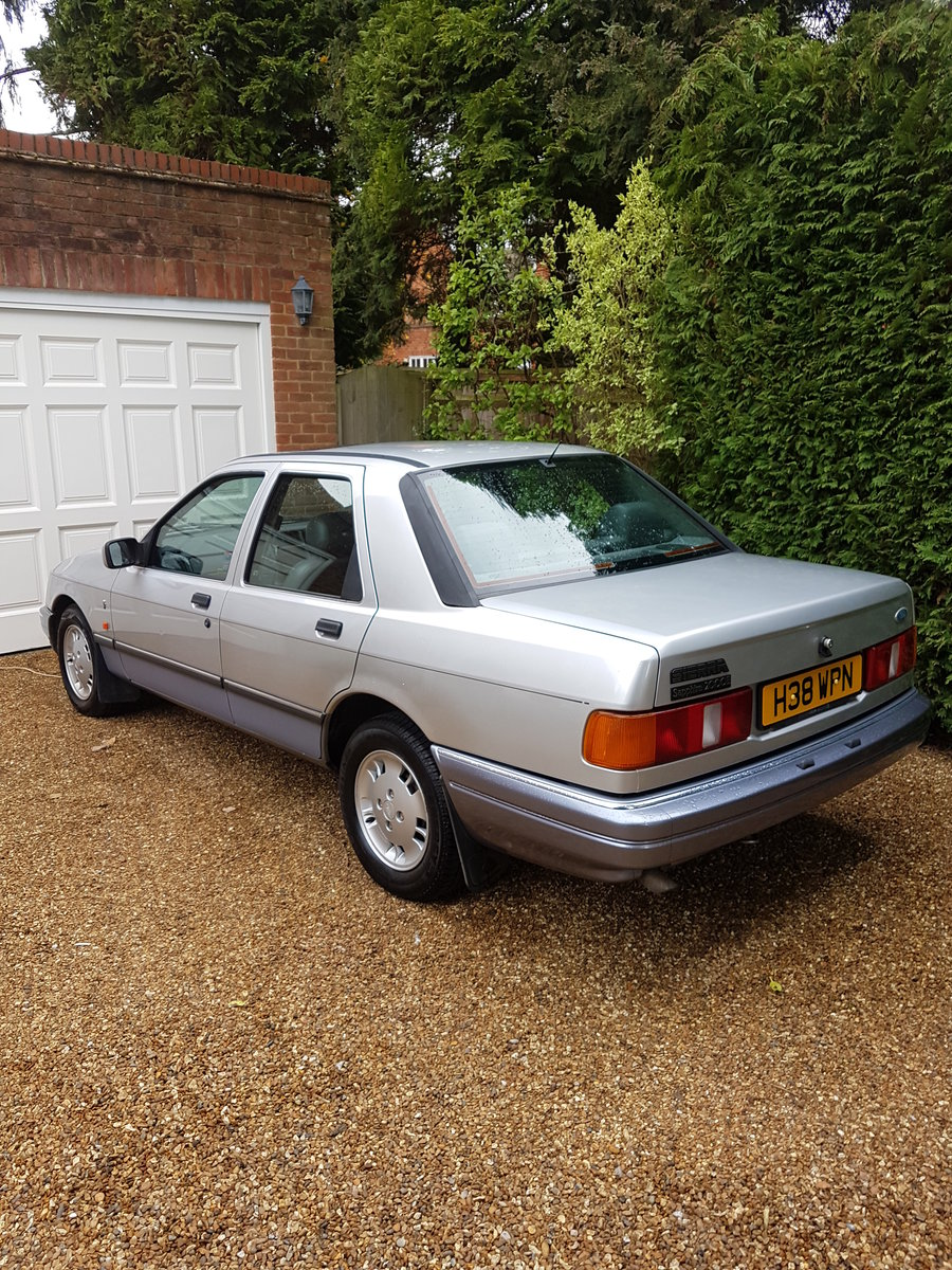 1990 Ford Sierra 2000E Totally mint original condition For Sale (picture 5 of 6)