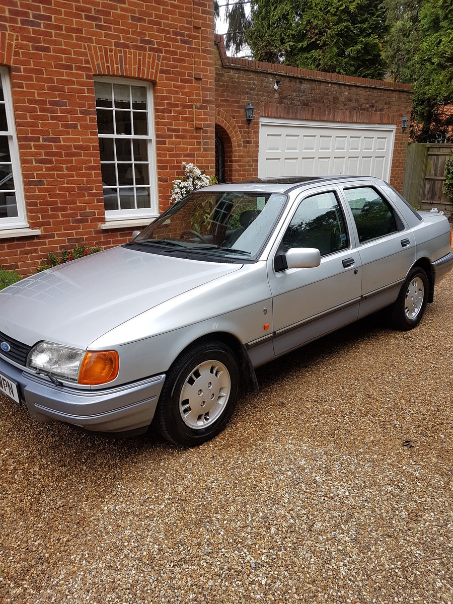 1990 Ford Sierra 2000E Totally mint original condition For Sale (picture 6 of 6)