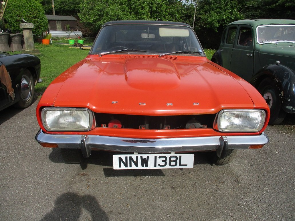 1973 FORD CAPRI FOR RESTORATION For Sale (picture 1 of 4)
