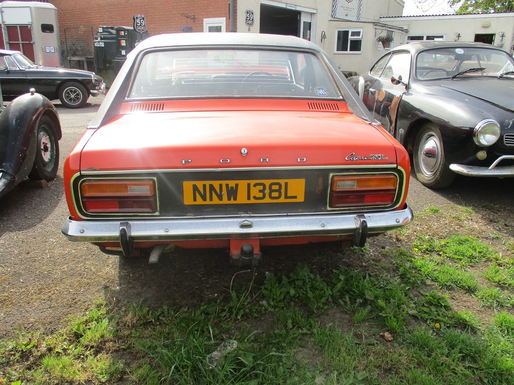 1973 FORD CAPRI FOR RESTORATION For Sale (picture 2 of 4)
