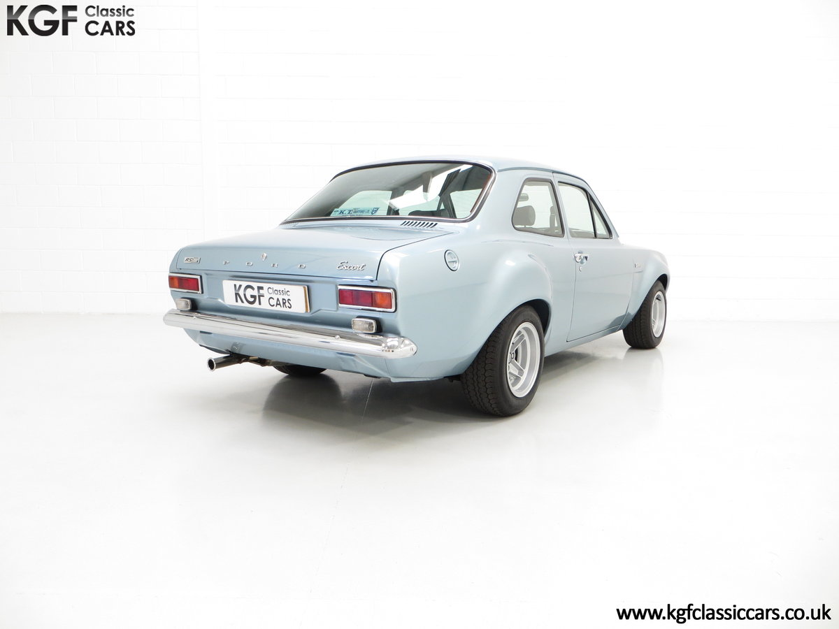 1974 A Detailed Bubble-Arch AVO Mk1 Ford Escort RS2000 SOLD (picture 5 of 6)