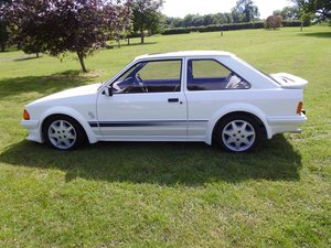 1985 Ford Escort RS Turbo mk1 SOLD