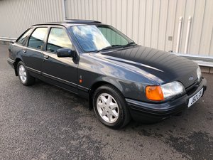 1991 J FORD SIERRA 2.9 V6 XR4X4 HATCHBACK SOLD