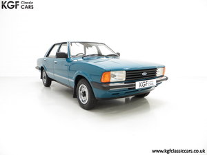 1980 A Superb Ford Cortina Mk5 1600L with Just 29,977 Miles SOLD