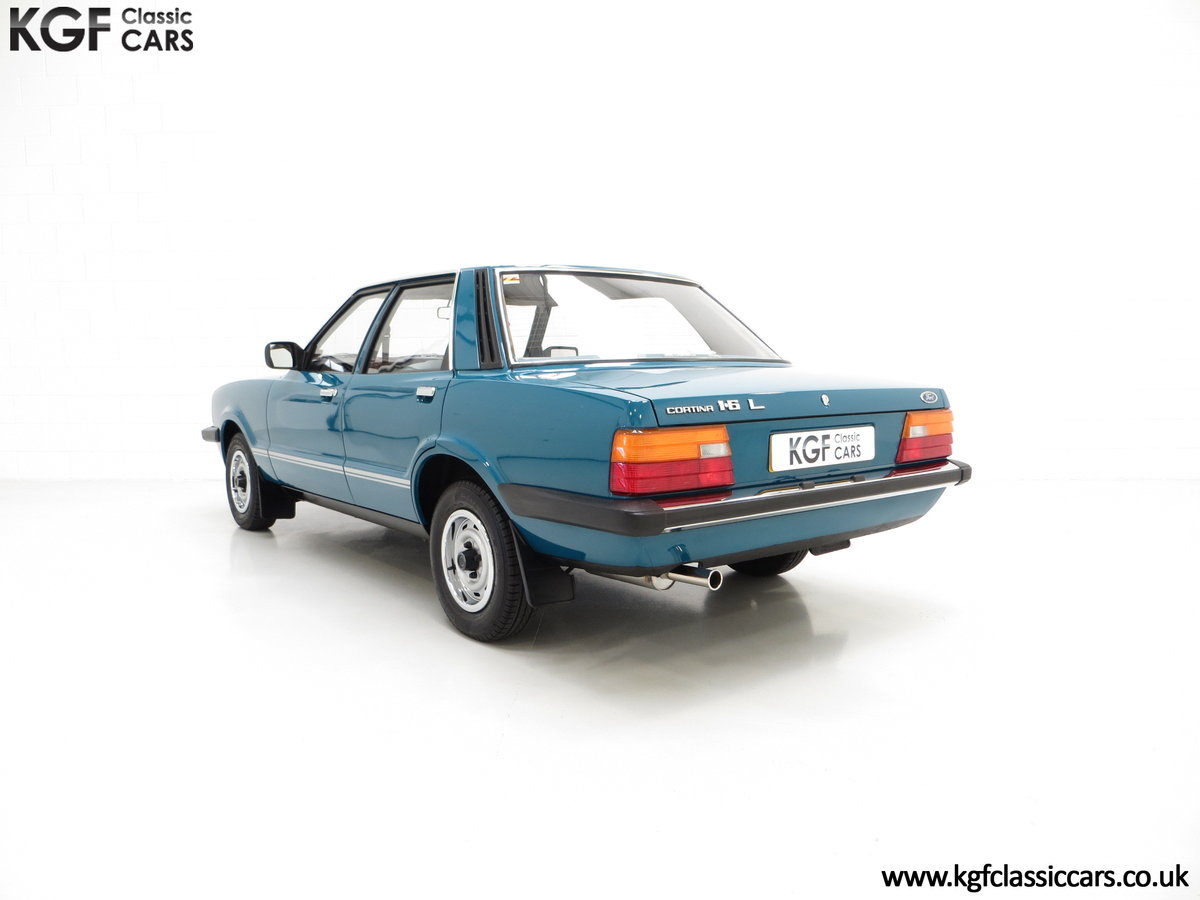 1980 A Superb Ford Cortina Mk5 1600L with Just 29,977 Miles SOLD (picture 4 of 6)