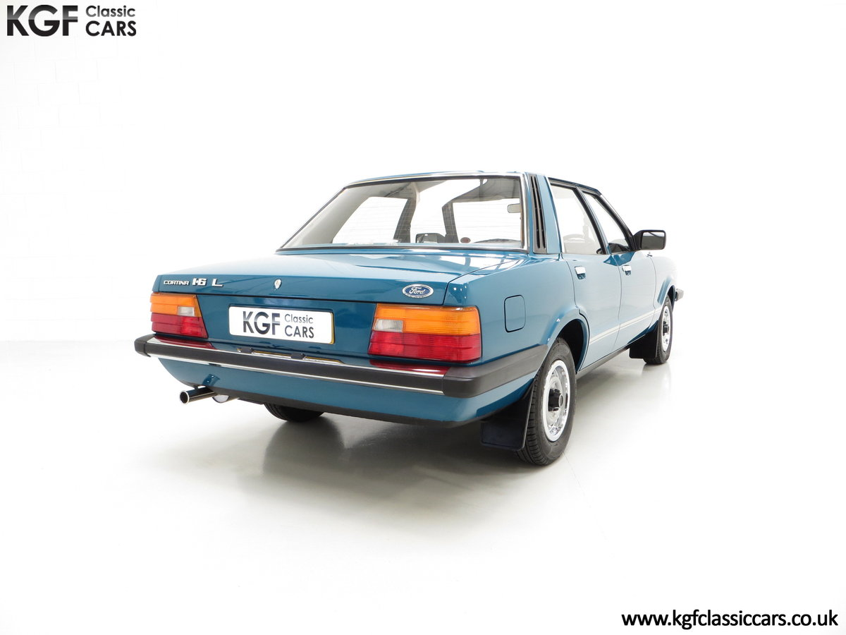 1980 A Superb Ford Cortina Mk5 1600L with Just 29,977 Miles SOLD (picture 5 of 6)