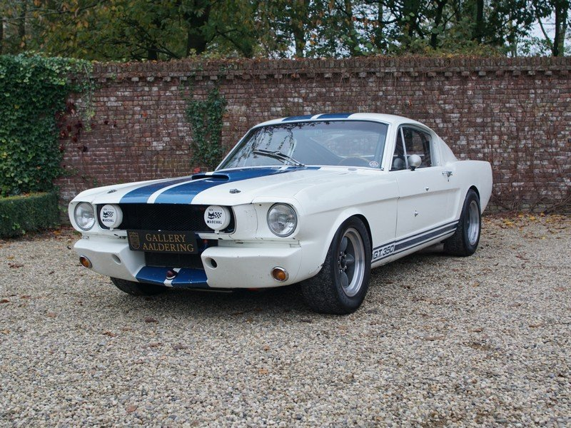 1966 Ford Mustang GT 350 H Shelby race car original Shelby Hertz For Sale (picture 1 of 6)