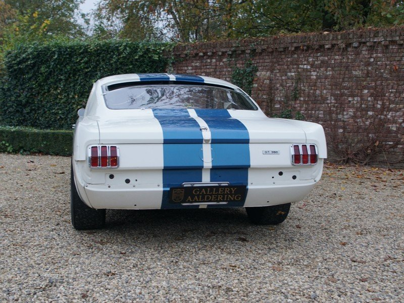 1966 Ford Mustang GT 350 H Shelby race car original Shelby Hertz For Sale (picture 6 of 6)