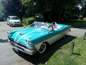 1958 Ford Fairlane 500 Retractable Hardtop Skyline For Sale