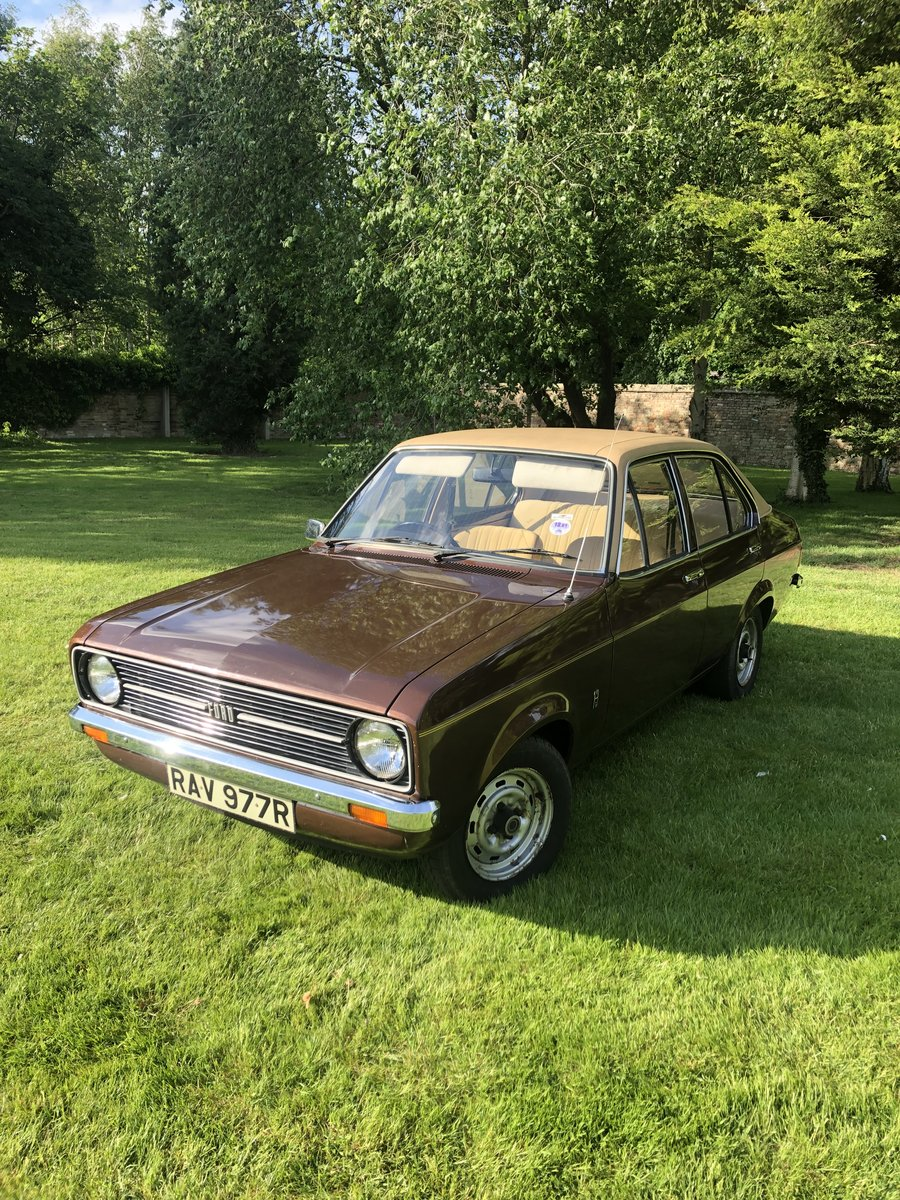 1977 Mk2 Ford Escort L 20,000 miles from new! For Sale (picture 1 of 6)