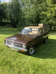 1977 Mk2 Ford Escort L 20,000 miles from new!