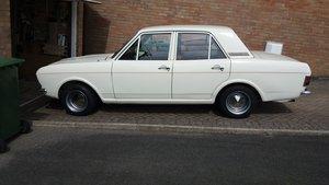 1968 FORD MK2 CORTINA 1300 DELUXE ERMINE WHITE For Sale