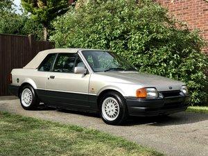 1990 Ford Escort XR3i Cabriolet SE **55k miles** For Sale