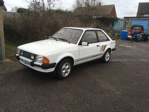 1982 ford escort xr3 mk3  For Sale