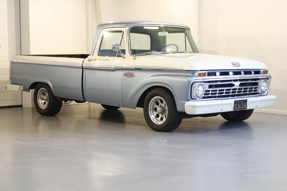 1965 Ford F 100 Pick-Up Automatic For Sale (picture 1 of 6)