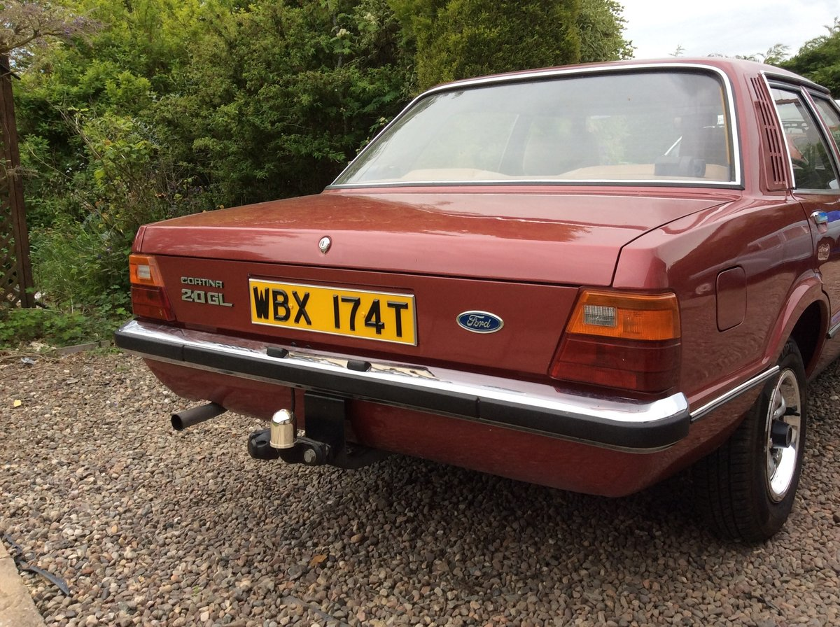 1979 ford cortina GL 2.0 jupiter red SOLD (picture 2 of 6)