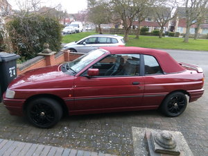 1991 Ford Escort Cabriolet For Sale