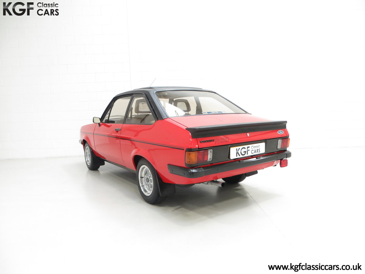 1980 A Ford Escort Mk2 RS2000 Custom with 27,207 Miles SOLD (picture 4 of 6)