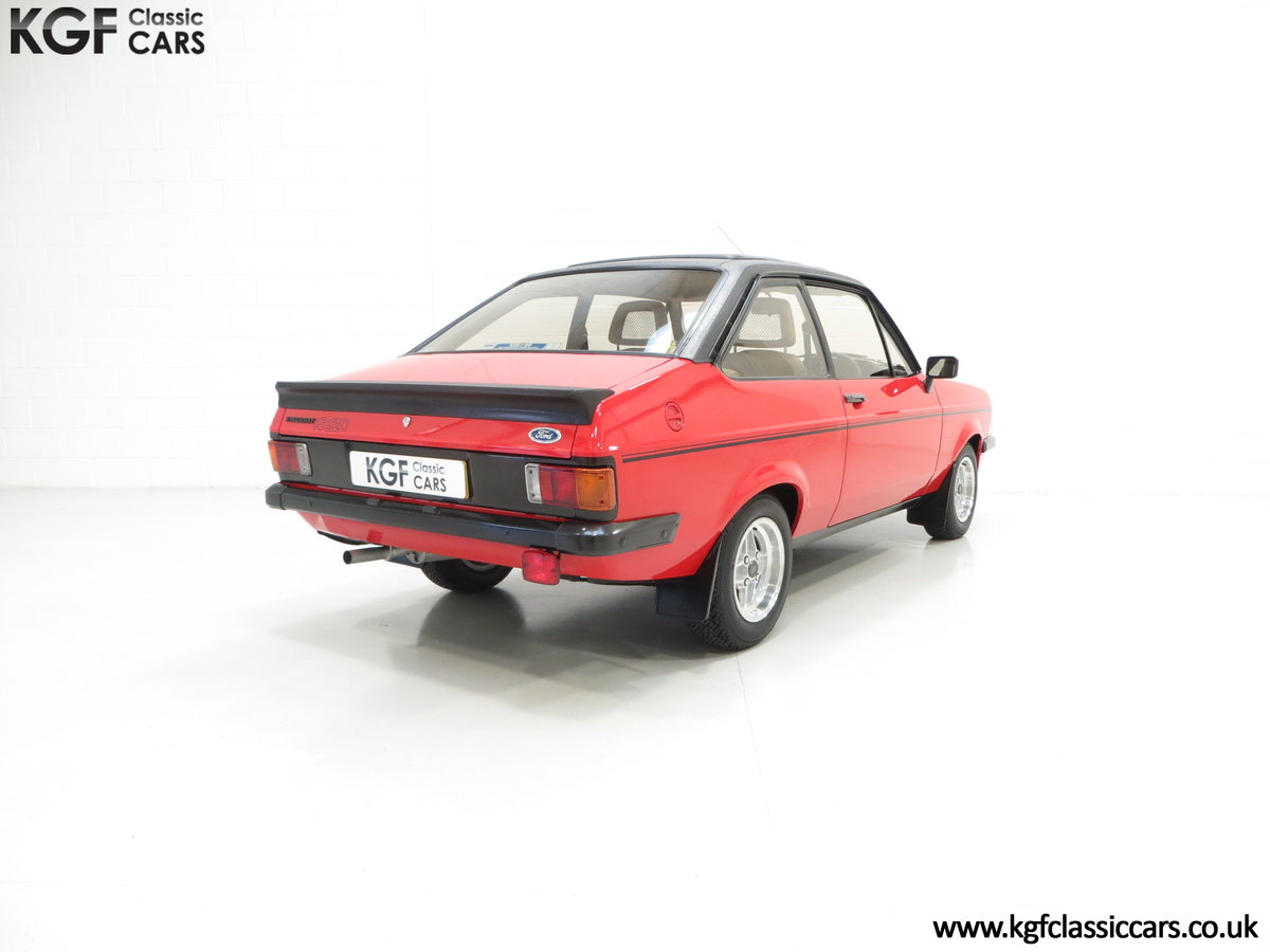 1980 A Ford Escort Mk2 RS2000 Custom with 27,207 Miles SOLD (picture 5 of 6)