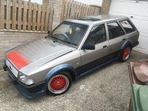 1986 Mk3 Ford escort laser 2 estate For Sale