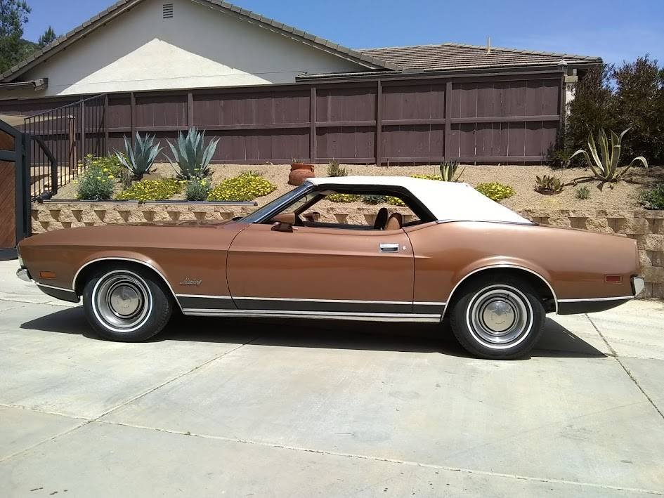 1972 Classic 70's Mustang Convertible For Sale (picture 2 of 6)