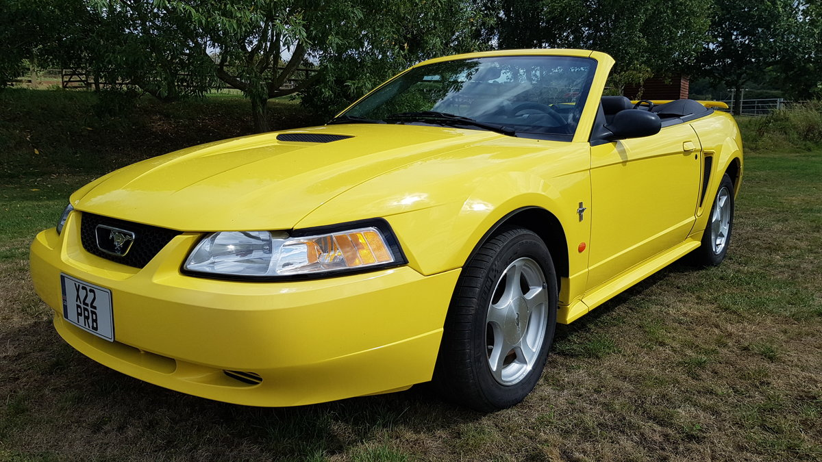 2002 Ford Mustang - Less than 22000 rust free miles For Sale (picture 1 of 6)