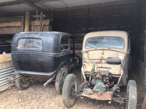 Ford 1947 Prefect barn find