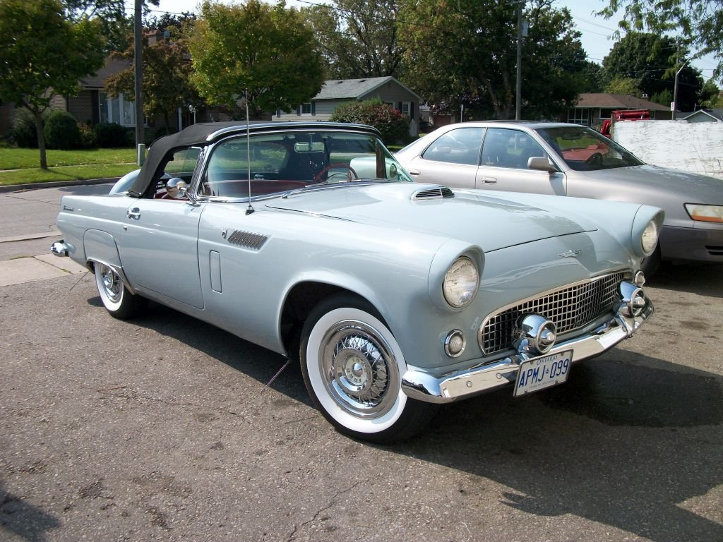 1956 Ford Thunderbird For Sale (picture 1 of 5)