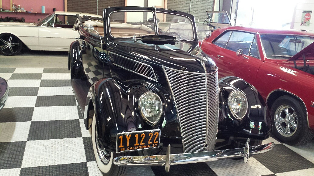 1937 Ford Model 78 4 Door Deluxe =Midnight(~)Blue V8 $obo For Sale (picture 1 of 6)