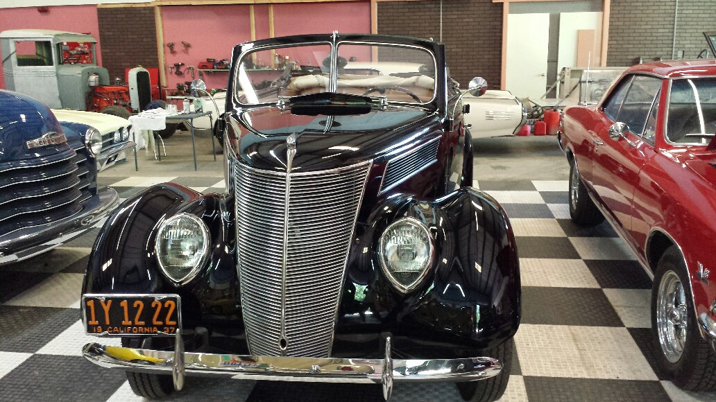 1937 Ford Model 78 4 Door Deluxe =Midnight(~)Blue V8 $obo For Sale (picture 2 of 6)