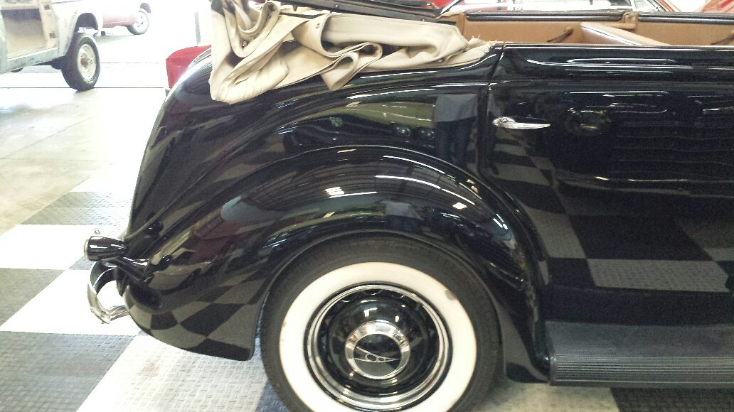 1937 Ford Model 78 4 Door Deluxe =Midnight(~)Blue V8 $obo For Sale (picture 4 of 6)